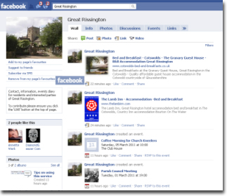Great Rissington on Facebook